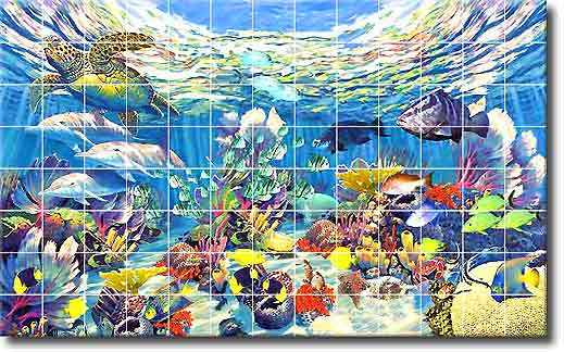 Murals: Ceramic Tile Murals, Tile Murals, Decorative Tiles, Hand ...